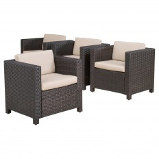 Puerta Set of 4 Club Chairs - Christopher Knight Home : Target