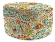 Gilford Festival Round Outdoor Pouf | Kirklands