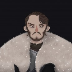 [GOT] characters illustrations on