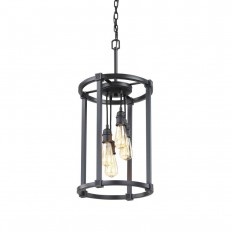 Fifth and Main Lighting 4-Light Aged Bronze Pendant-HD-1264 - The Home Depot