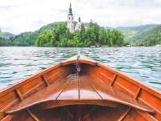 I, too, went to Lake Bled : travel