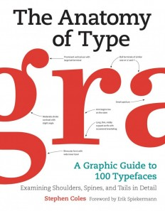 The Anatomy of Type: A Graphic Guide to 100 Typefaces on Inspirationde