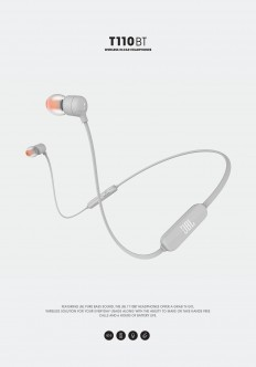 JBL Bluetooth headphones T110BT on