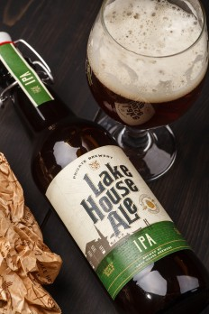 Lake House Ale Brings a Traditional Yet Modern Feeling To Craft Beer — The Dieline | Packaging & Branding Design & Innovation News