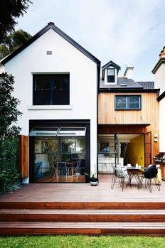 Contemporary + Modern Farmhouse Exteriors on Inspirationde