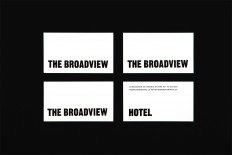 New Brand Identity for The Broadview Hotel by Blok — BP&O