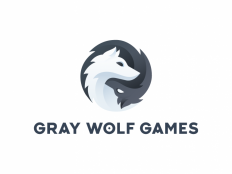 Gray Wolf Games – Logo by Jord Riekwel on Inspirationde