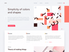 ???? Simplicity of colors and shapes by Maciej Ka?aska - Dribbble