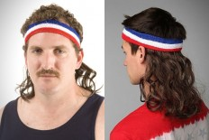 Mullet On The Go Headbands | HiConsumption