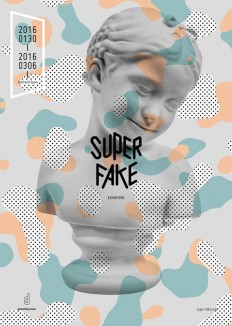 Super Fake Poster Design on Inspirationde