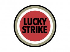 Lucky Strike Vector Logo - COMMERCIAL LOGOS - Industry : LogoWik.com