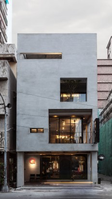 Q-Pot Hair Salon and Residence In Kaohsiung, Taiwan on Inspirationde