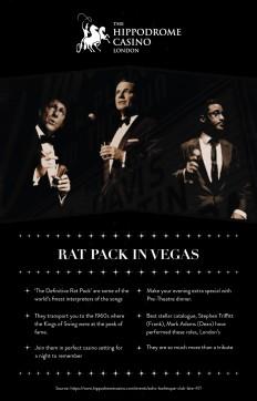 Hippodrome Casino — Rat Pack in Vegas