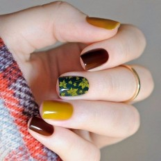 Beautiful Nail Art Ideas For Fall 2017 on Inspirationde