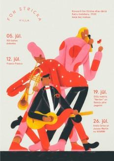 Fon Stricka Villa Poster Design on Inspirationde