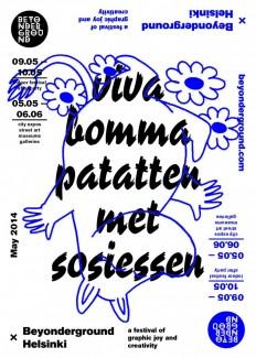 Beyonderground Identity / Poster Design on Inspirationde