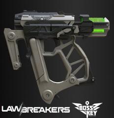 ArtStation - Lawbreakers: Gunslinger Alpha Pistol, Tor Frick