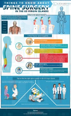 How to Find the Right Spine Surgeon in the US Virgin Islands [Infographic] - Lenard MD