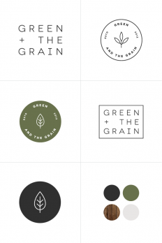 New Work Green & The Grain | Rowan Made