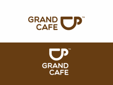 GrandCafe Logo design on Inspirationde
