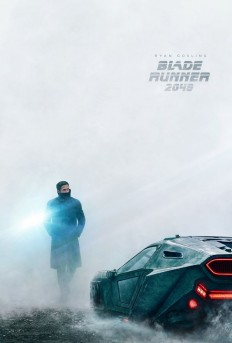 Ryan Gosling's Collar Blade Runner poster on Inspirationde