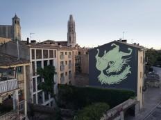 """Resistència"" Wall (Girona) on"