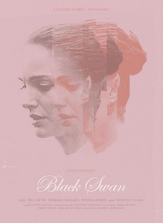 Black Swan by Sam Smith, Minimal Movie Posters on Inspirationde