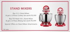 Stand Mixers | KitchenAid India