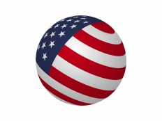 USA Sphere Flag Vector File - VECTOR ELEMENTS - Flags : LogoWik.com