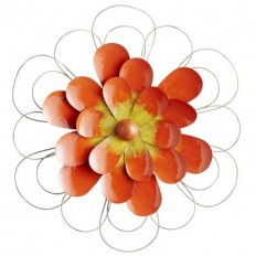 Orange Flower Wall Decor | Pier 1 Imports