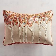 Floral Trees Lumbar Pillow | Pier 1 Imports