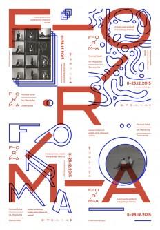 Forma Festival Poster Poland, 2015 on Inspirationde