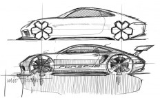Jony Diaz - ON PAPER... Porsche 911 by Julio Lozano ( designer at...