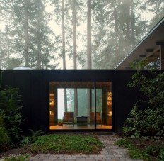 A 1959 Forest Cabin Was Turned into a Weekend Retreat in Rural Washington on Inspirationde