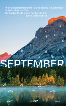 FALL 2017 Calendar on Inspirationde