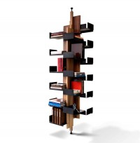 Modern Luxury Office Helical Shelves Storage Furniture Design City Joinery Brooklyn NYC - New York's Home, Design and Gifts Market on New York Markt