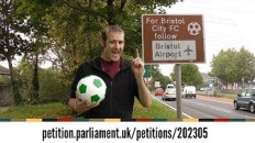 All UK football road signs are wrong! Join the petition for geometric change! - YouTube