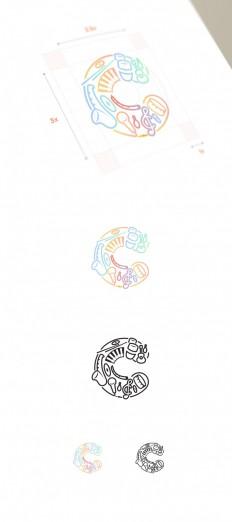 Cleo DJ Logo Design Concept by Modisana on Inspirationde