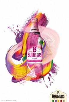 Bulmers Print Advert By DDB: Live colourful, 2 on Inspirationde