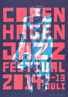 Final Jazz Poster by MikkelSommer on Inspirationde