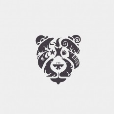 Bear and animals Logo design on Inspirationde