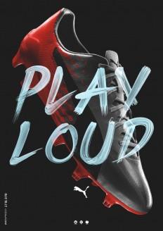 PUMA PLAY LOUD by Jeremy Haunschild on Inspirationde