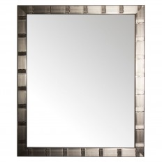 Rectangle Creekside Collection Decorative Wall Mirror Silver - Alpine Art and Miror : Target
