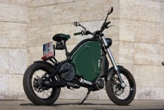 the gulas PI1S is a pedal electric motorcycle with 200 km battery range
