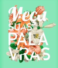 Typography Flower by Carolina Lima on Inspirationde