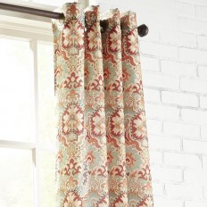Persia Grommet Curtain | Pier 1 Imports