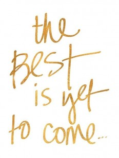 The best is yet to come on Inspirationde