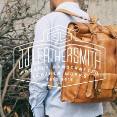 Custom type for JJ Leathersmith by Nick_fred on Inspirationde
