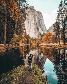 Fall in the valley – Yosemite National Park on Inspirationde