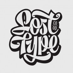 Lost Type Co-op lettering by Mika Melvas on Inspirationde